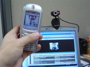 Вебкамера и телефон